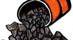 Karbid Gas um einen Maulwurf loszuwerden