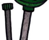 Der Maulwurfschreck mit Solar oder Batteriebetrieben